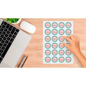 pegatinas en pliego personalizadas