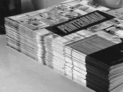 Revistas B/N A4 personalizadas