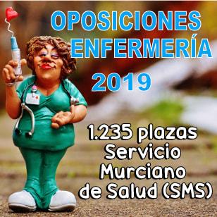 Convocatoria Enfermería 2019 Servicio de Salud de Murcia