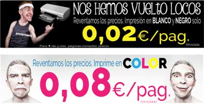 precios copisteria