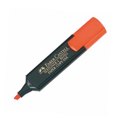 Marcador Faber Castell naranja