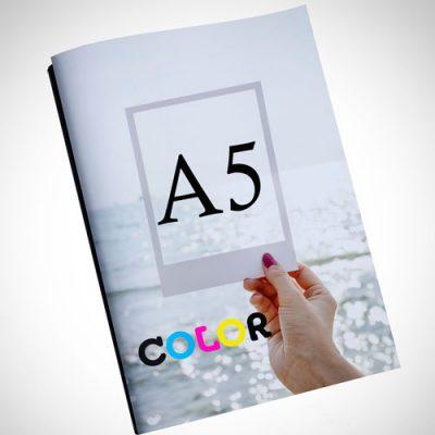 copistería online color A5