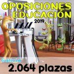 Oposiciones Educación Galicia 2019 – 2064 plazas