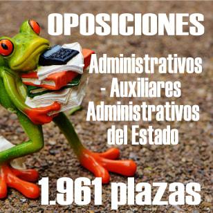 OPOSICIONES ADMINISTRACIÓN DEL ESTADO 2019