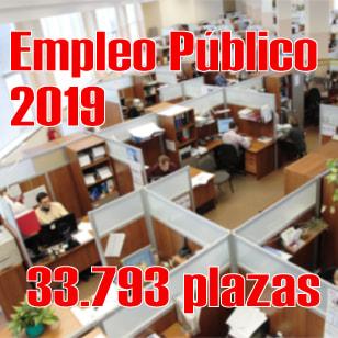 Aprobada la Oferta de Empleo Público del Estado 2019 con 33.793 plazas
