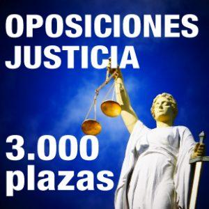 Oposiciones de Administración Justicia 2019: oferta de más de 3.000 plazas