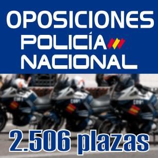 Oferta Policía Nacional 2019: 2.506 plazas