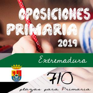 Oposiciones Extremadura: Convocadas 710 plazas Cuerpo de Maestros