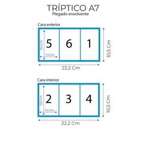 medidas triptico A7