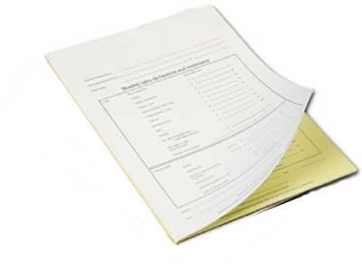 Talonario Autocopiativo A4