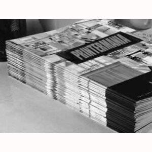 revistas blanco y negro personalizadas