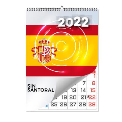 calendario laminas a3 sin santoral