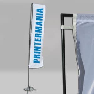 banderola rectangular publicidad
