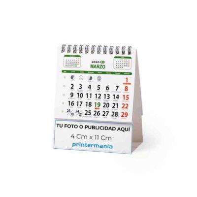 Calendarios de sobremesa 7 laminas estandar (14×11 cm)