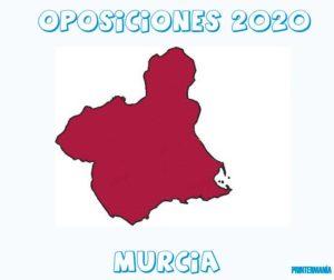 oposiciones Murcia 2020
