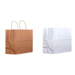 Bolsas papel kraft para pedidos y compras