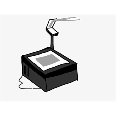 Impresión de transparencias sobre acetatos