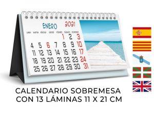 calendario sobremesa wireo