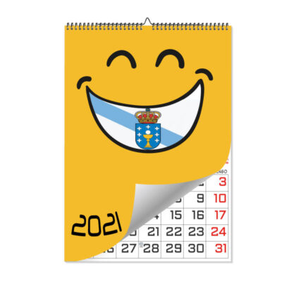 Calendario Láminas Gallego