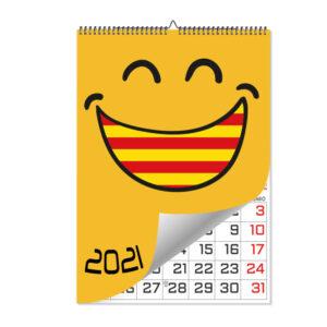 Calendario laminas wire-o A3 catalan