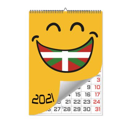 Calendario Láminas Euskera
