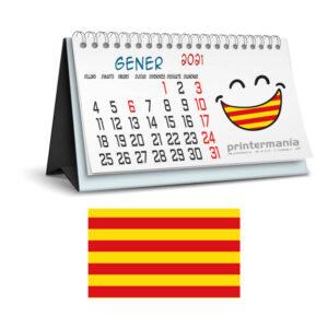 calendario personalizado de sobremesa en Catalán