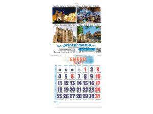 calendario mini con faldilla