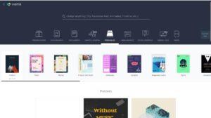 diseña tu cartel online con visme