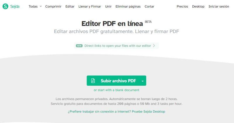 editor sedja pdf